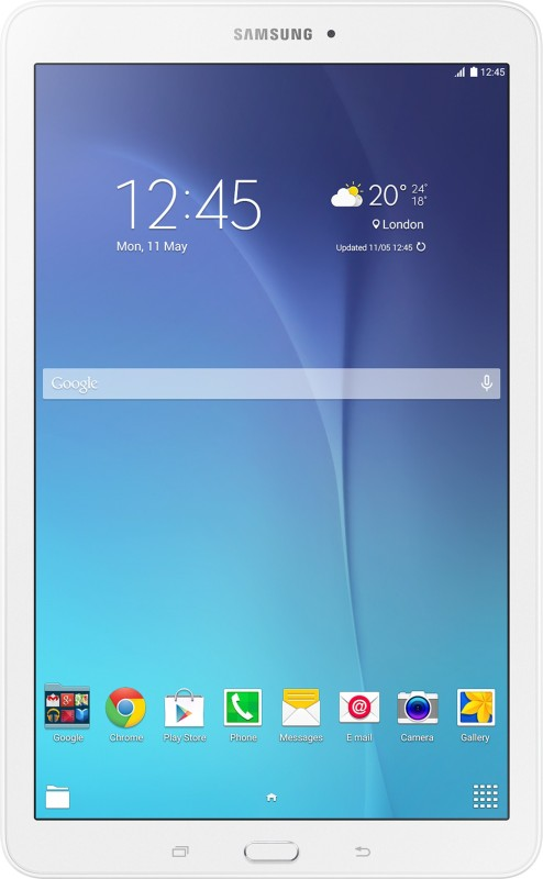 Samsung Galaxy Tab E (3G + Wifi, Calling, Metallic Black)