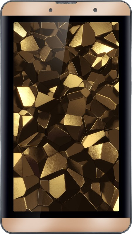 Iball Slide Snap 4G2 16 GB 7 inch with Wi-Fi+4G(Biscuit Gold)