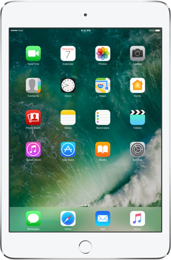 View Apple mini 4 32 GB 7.9 inch with Wi-Fi Only(Silver) Tablet Note Price Online(Apple)