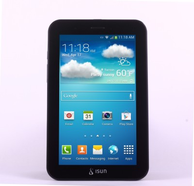 ISUN ISN406 8 GB 7 inch with Wi-Fi+2G
