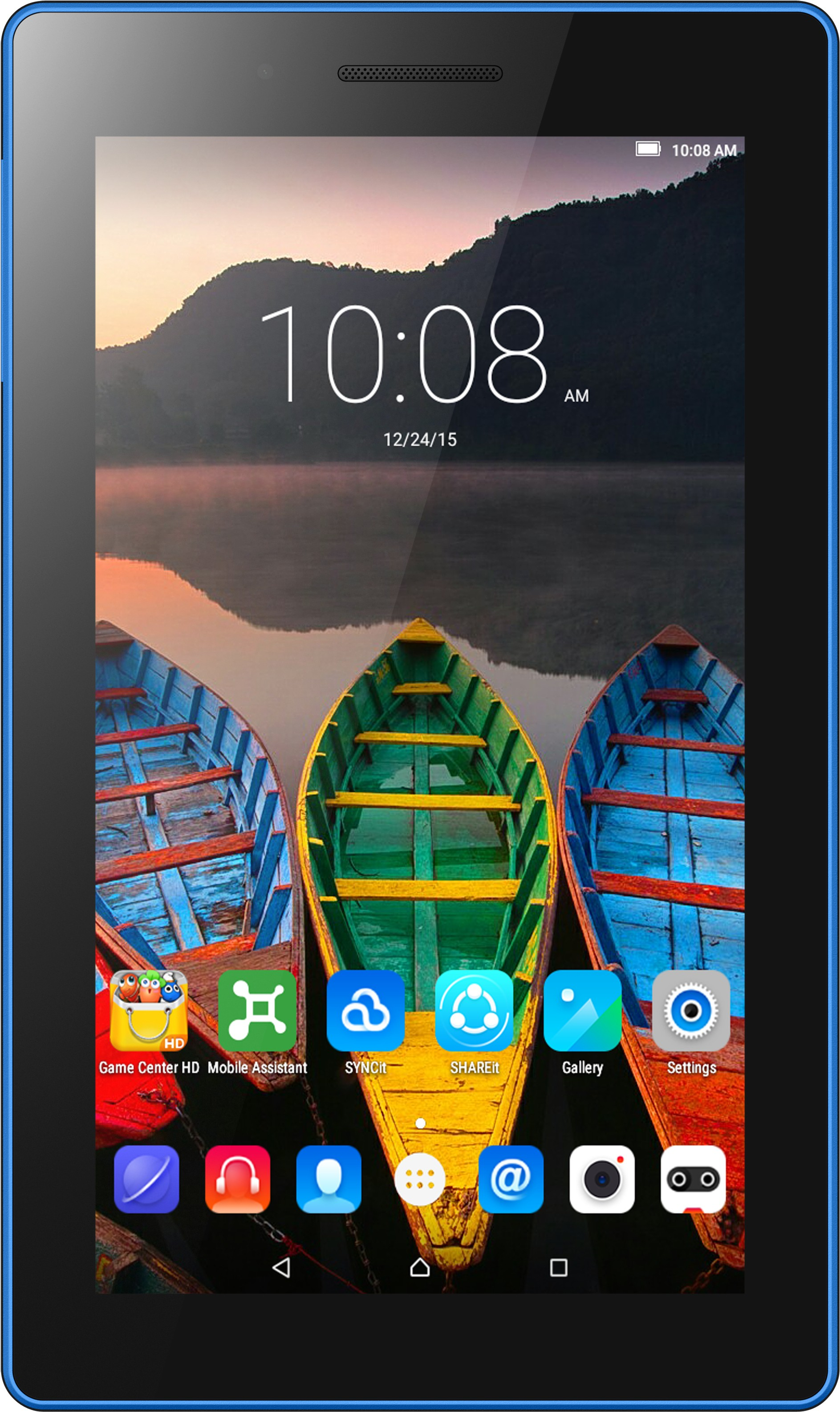 View Lenovo Tab3 7 Essential 8 GB 7 inch with Wi-Fi Only(Black) Tablet Note Price Online(Lenovo)