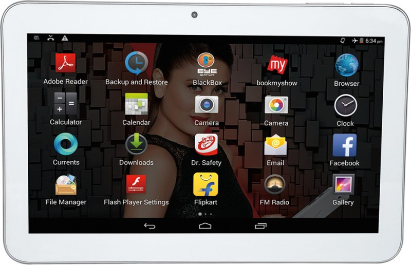 Iball 1026-Q18 8 GB 10 inch with Wi-Fi+3G 1026-Q18