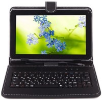 I Kall IK1 (1 4GB) Dual Sim Calling Tablet with Keyboard 4 GB 7 inch with 3G(Black)
