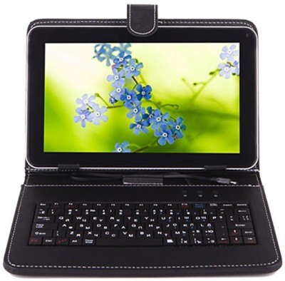 I Kall IK1 (1+4GB) Dual Sim Calling Tablet with Keyboard 4 GB 7 inch with 3G(Black)