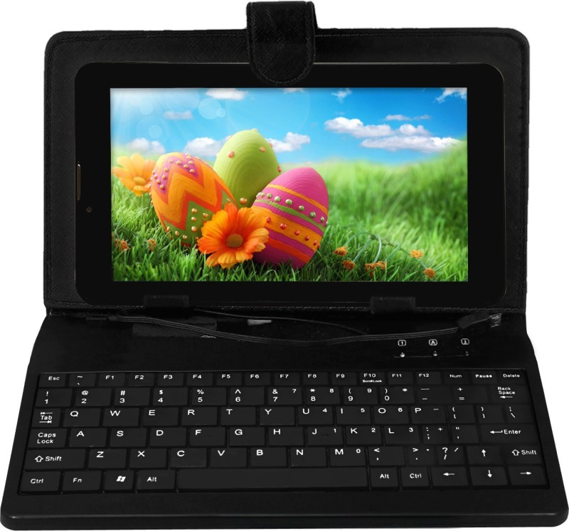 Datawind Vidya Tablet with Keyboard 4 GB 7 inch with Wi-Fi Only(Black)