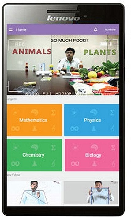 View Byju's Class 8th ICSE Preparation - 1 Year Validity 8 GB 7 inch with Wi-Fi Only(Black) Tablet Note Price Online(Byju's)