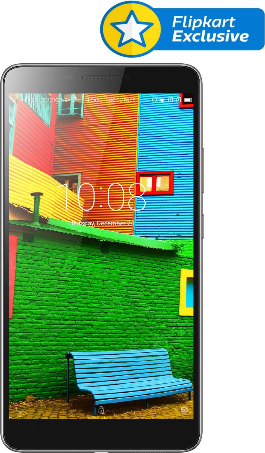 View Lenovo PHAB 16 GB 6.98 inch with Wi-Fi+4G(Ebony) Tablet Note Price Online(Lenovo)