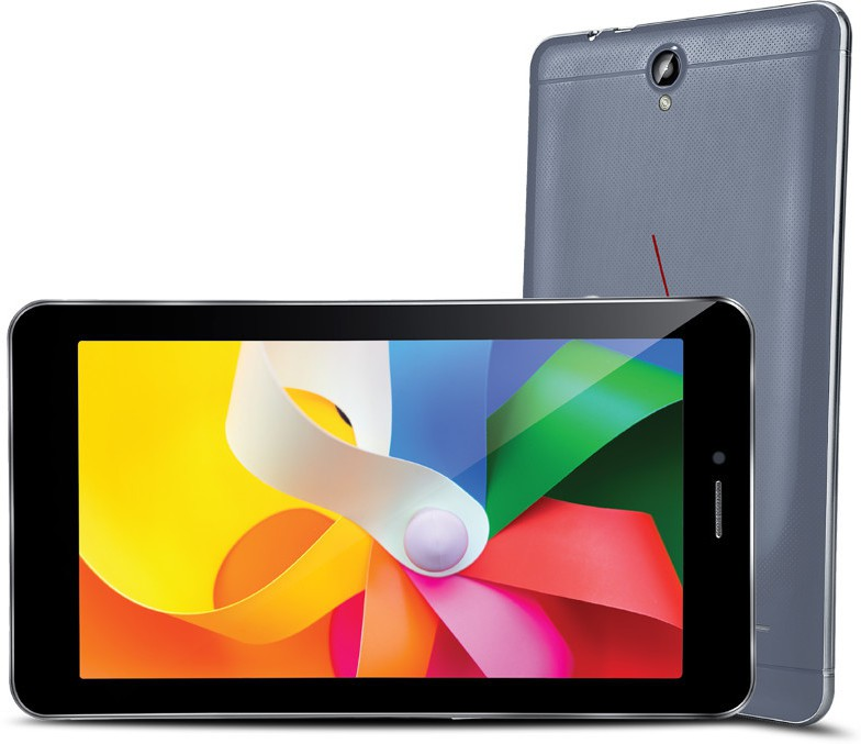 View iBall q45 16 GB 7 inch with Wi-Fi+3G(Cobalt Brown) Tablet Note Price Online(iBall)