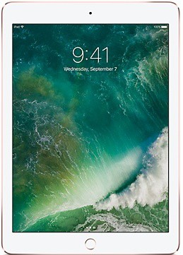 View Apple iPad Pro 32 GB 9.7 inch with Wi-Fi Only(Rose Gold) Tablet Note Price Online(Apple)