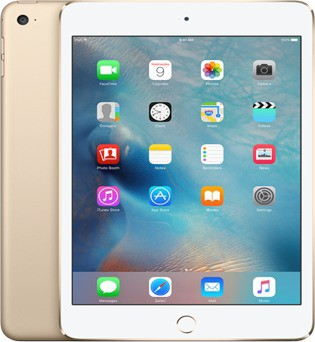 View Apple iPad mini 4 16 GB 7.9 inch with Wi-Fi+4G(Gold) Tablet Note Price Online(Apple)