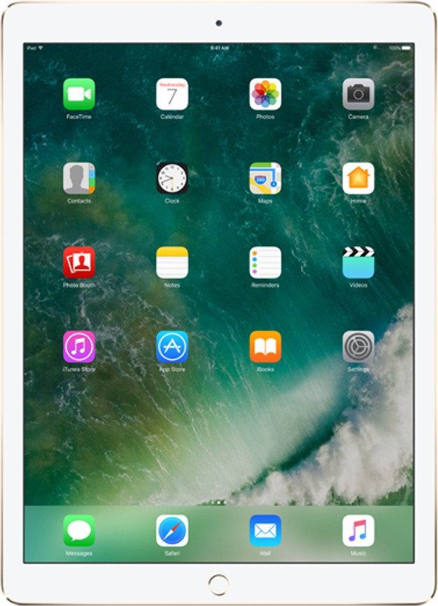View Apple iPad Pro 32 GB 9.7 inch with Wi-Fi Only(Gold) Tablet Note Price Online(Apple)