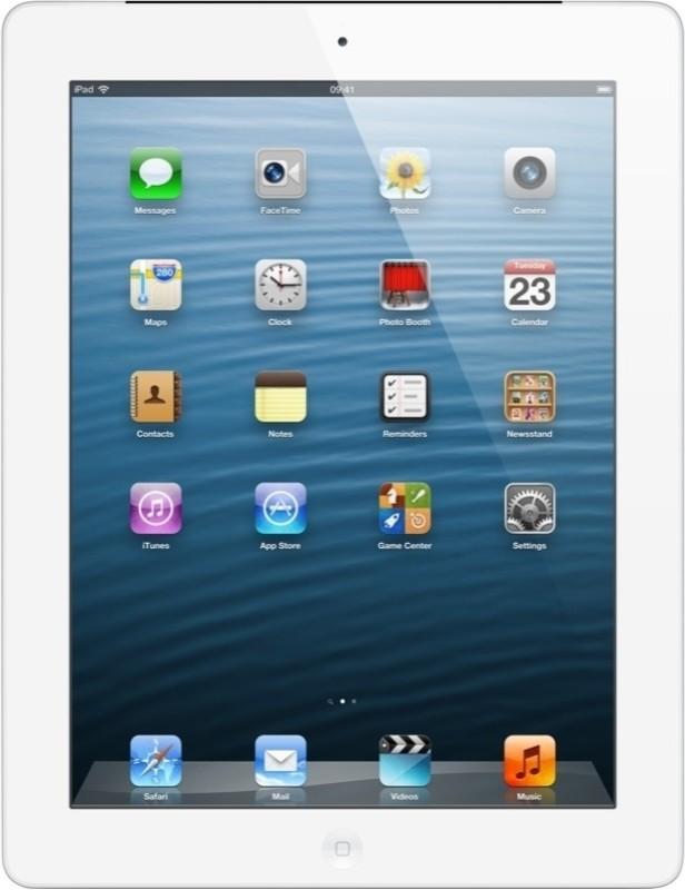 Apple 32GB iPad with Retina Display and Wi-Fi Cellular (4th Generation)(White)