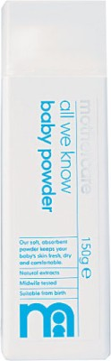 Mothercare All We Know Baby Talc - K3607