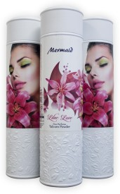 Mermaid Lilac Love Perfumed Fine Talcum