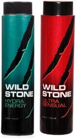 Wild Stone Ultra Sensual and Hydra Energy Talc