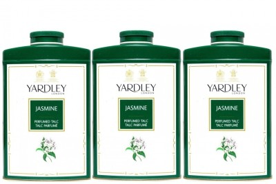 Yardley London Jasmine Perfumed Talc (Pack of 3)(750 g)