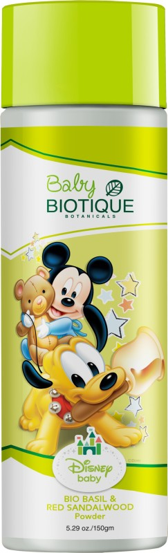 Biotique Disney Baby BIO BASIL & RED SANDALWOOD (Mickey) Powder 150gm(150 g)