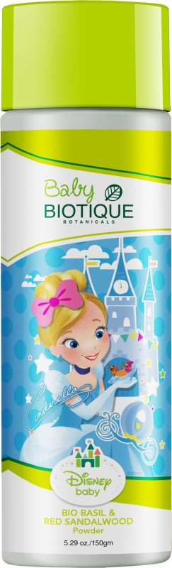 Biotique Disney Baby BIO BASIL & RED SANDALWOOD (Baby princess) Powder 150gm(150 g)