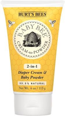 Burt's Bees Baby Bee Cream To Powder, 4 Ounces