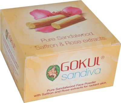 Gokul Sandalwood Face Powder (Pack of 1)