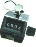 HE Retail Analog Tally Counter (Silver P...