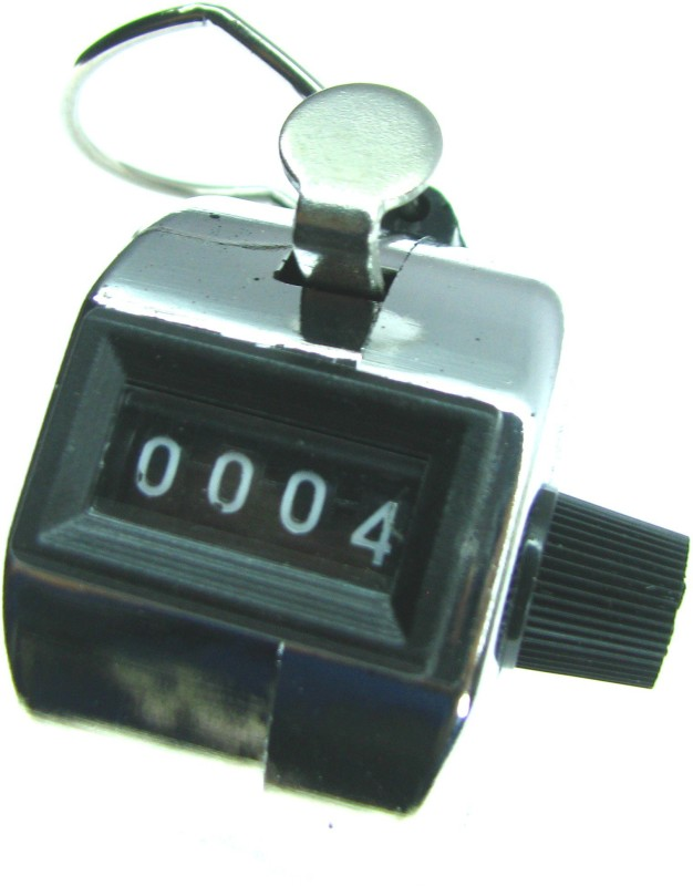 HE Retail Analog Tally Counter(Silver Pack of 1)