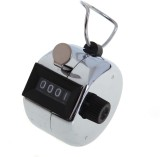 Gauba Traders Analog Tally Counter (Silv...