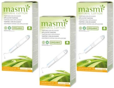 Masmi Organic Cotton Applicator Superplus Tampons