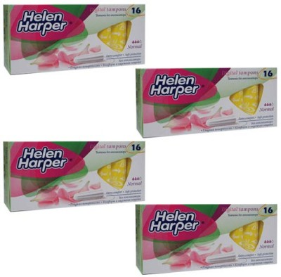 Helen Harper Light to Medium Flow Normal Tampons