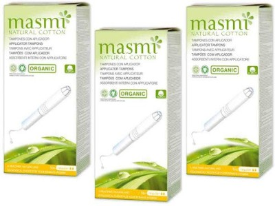 Masmi Organic Cotton Applicator Regular Tampons