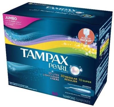 Tampax Pearl Plastic Triple Pack Tampons(Pack of 3) at flipkart