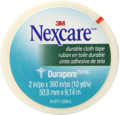 Nexcare Durable Cloth First Aid Tape Injury Tape(White)