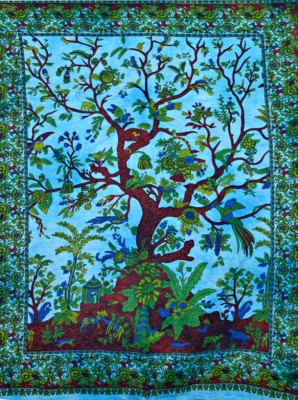 Evergreen Art Tapestry(Multicolor)