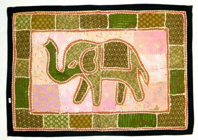 Indias Creation Animal Tapestry(Multicolor)
