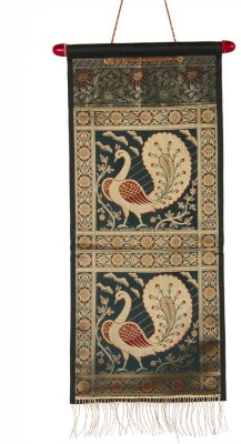 TrendzTree Dark Green Animal Tapestry(Green)