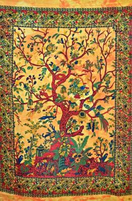 Evergreen Art Tapestry(Multicolor)