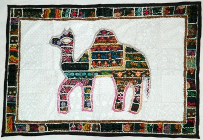 Indias Creation Animal Figure Tapestry(Multicolor)