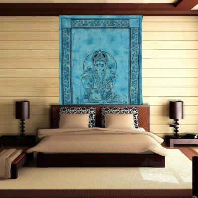 Linzina Fashions Home Decor Tapestry(Blue)