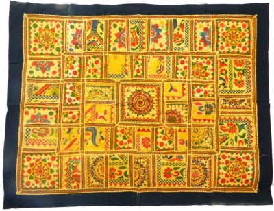 Indias Creation Embroidery Work Tapestry(Multicolor)