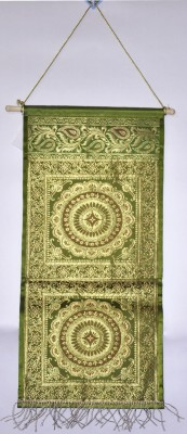 Lal Haveli Wall Décor Silk Magzine Holder Hanging Ethnic0&0Traditional Tapestry