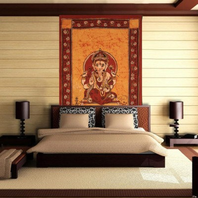 Linzina Fashions Home Decor Tapestry(Orange)