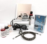 Mumbai Tattoo AIR BRUSH TATTOO KIT Tempo...