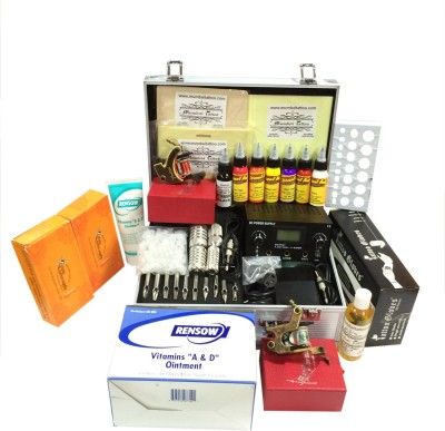 Mumbai Tattoo TATTOOKIT06 Permanent Tattoo Kit
