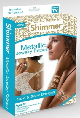 IBS Metallic Shimmer Temporary Tattoo Kit