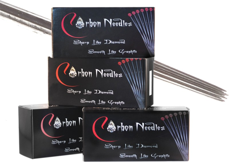 Carbon Needles 5RL Disposable Round Liner Tattoo Needles(Pack of 50)