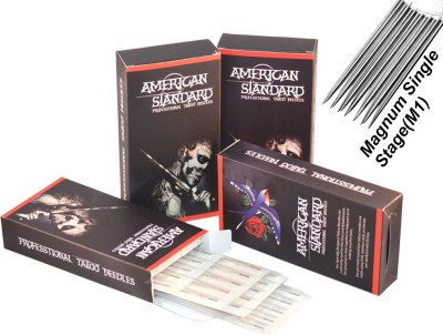 American Standard TN-7M1 Disposable Magnum Tattoo Needles