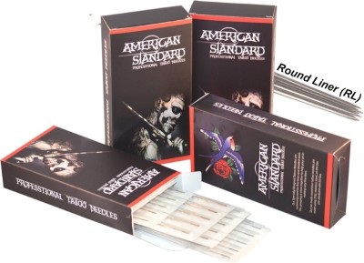 American Standard TN-9RL Disposable Round Liner Tattoo Needles