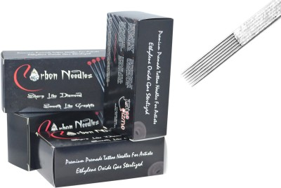 Carbon Needles 13FS Disposable Flat Shader Tattoo Needles