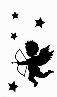 Smilendeal T1956 Angel Temp Body Tattoo