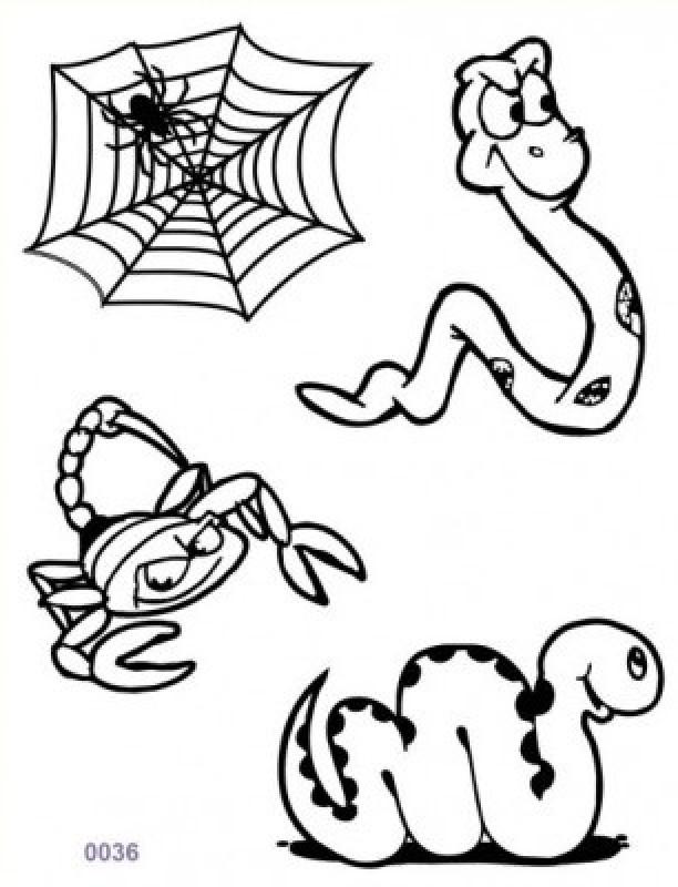 Shimmer Fans Glitter Tattoo Kit (TAPE + GLITTER)(Animals)